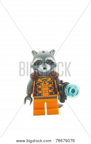 Rocket Raccoon Minifigure