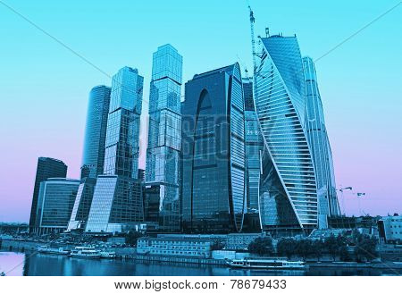 Moscow-city (Moscow International Business Center)