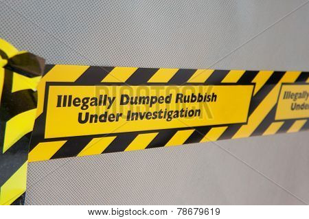 Illegal Rubbish Dumping
