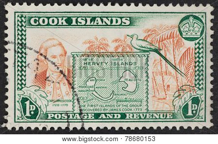 Cook Islands Postage Stamp