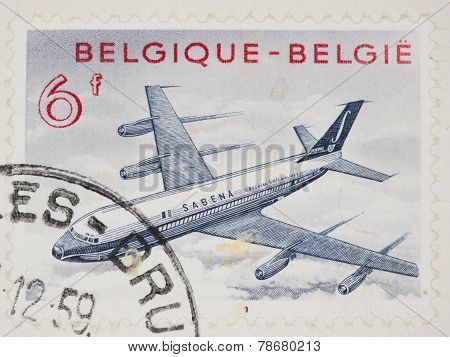Belgium Postage Stamp
