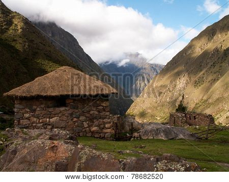 Inca Trail Valley Hut