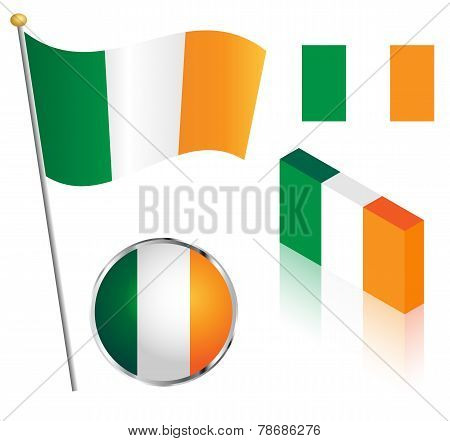 Irish Flag Set