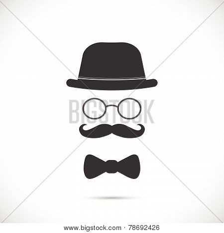 Vintage Business Suit Illustration