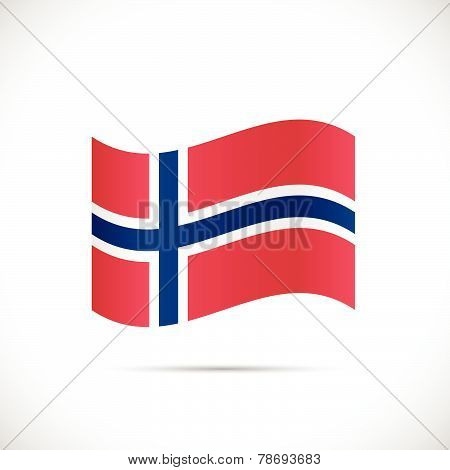 Norway Flag Illustration