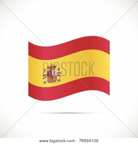 Spain Flag Illustration