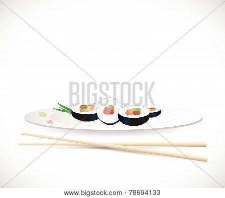 Sushi Illustration