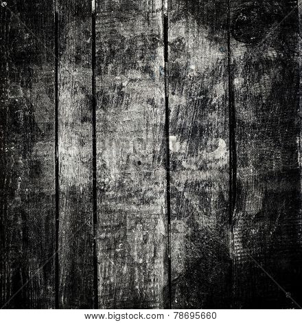Old  Dark  Grunge Wood Background With Knots And Scratches. Wood Plank Texture Of Bark Wood Natural