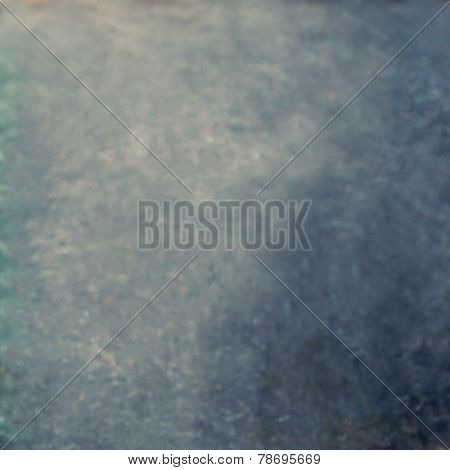 Blurry Abstract Black Background Or Gray Backdrop Texture With Spot Light And Scratches, Black And W