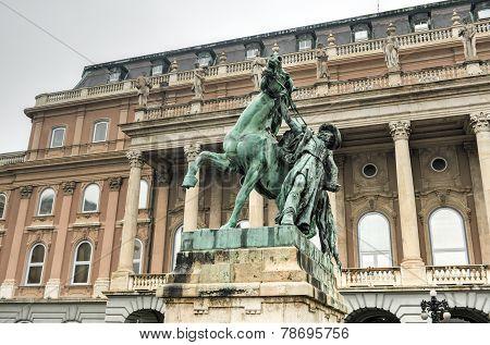 Horse Wrangler, Buda Castle - Budapest, Hungary.