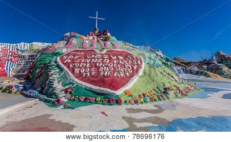 Salvation Mountain Art Installation