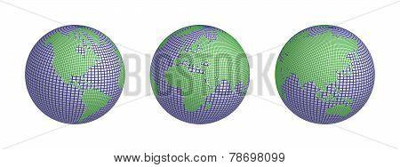 World wire 3 globes