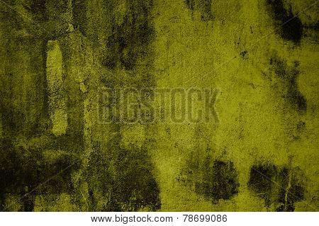 Grunge background yellow