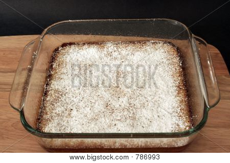 Lemon Squares, Dusted