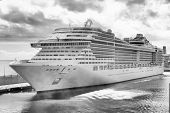picture of passenger ship  - Cruise ship - JPG