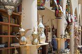 stock photo of oman  - Craft on the market in Nizwa Oman - JPG