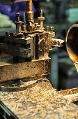 pic of machine  - lathe machine in a workshop - JPG