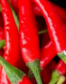 image of chillies  - Chilli Peppers Meaning Chilly Red And Chile