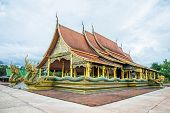 pic of buddhist  - Buddhist temple in the Northeast of Thailand - JPG