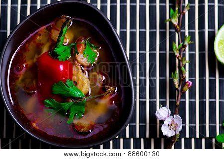 Soup Tom Yam Kung .