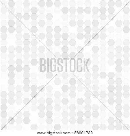 Vector background abstract hexagones.