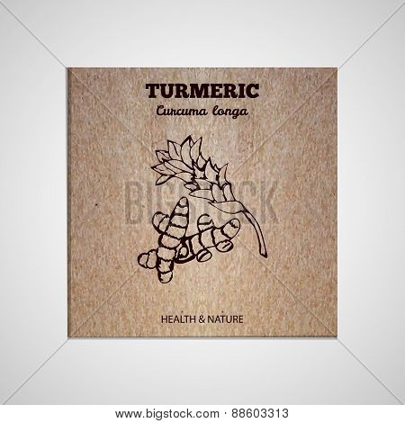 Herbs and Spices Collection - Turmeric