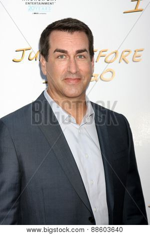 LOS ANGELES - FEB 20:  Rob Riggle at the