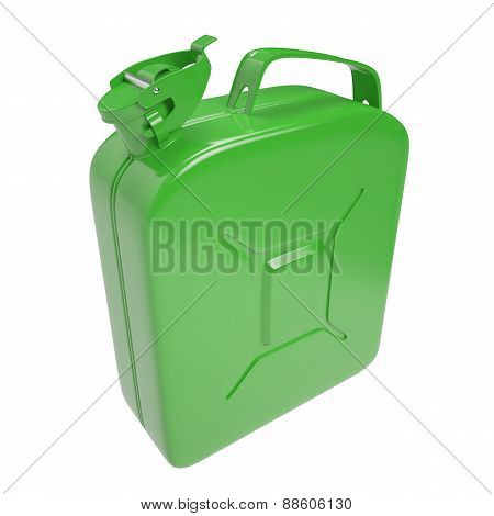 Canister for fuel.