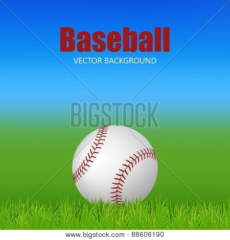 Baseball On The Field