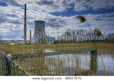 Power station - Industrial view