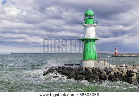 Lighthouse Of Warnemunde