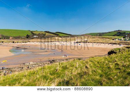 Bantham Beach Devon