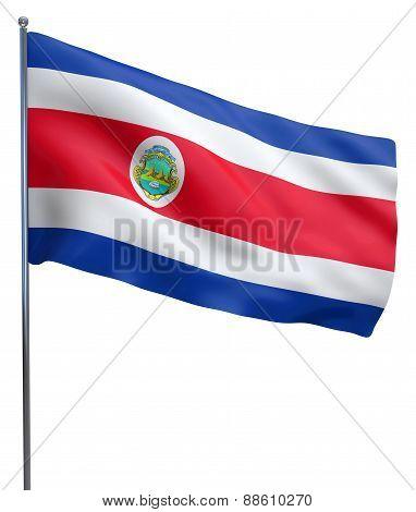 Costa Rica Flag Image