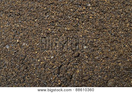 Ground Coffee For Background
