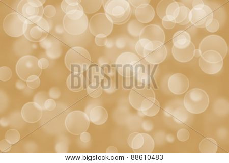 brown circle shape boke background