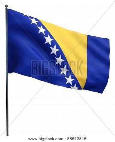 Bosnia Flag Image