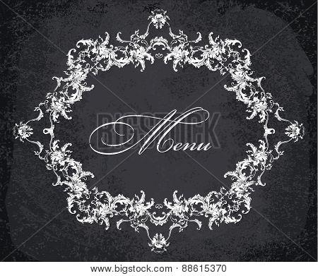 Baroque Ornamental Frame