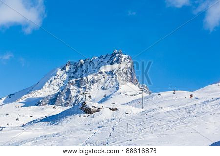 Pennine Alps On The Italian-swiss Border