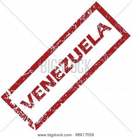 New Venezuela rubber stamp