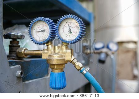 Heavy-duty Industrial Manometer, Measuring Pressure