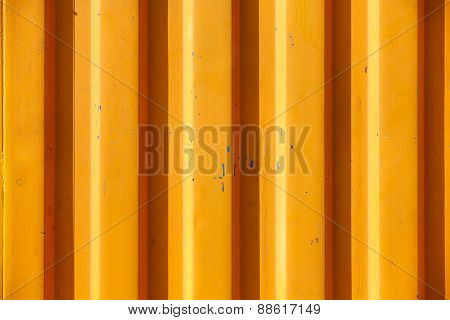 Orange Textured And Lined Industrial Background
