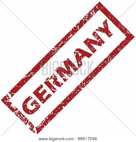 New Germany rubber stamp