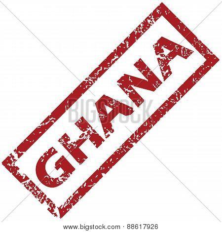 New Ghana rubber stamp