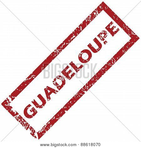 New Guadeloupe rubber stamp
