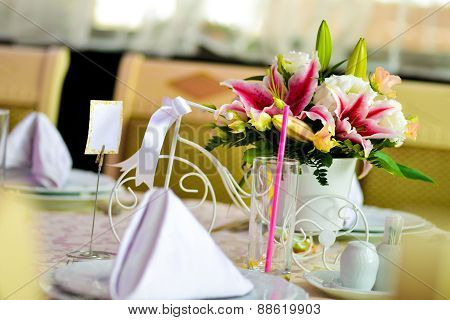 Floral Arrangement With Imperial Lilies