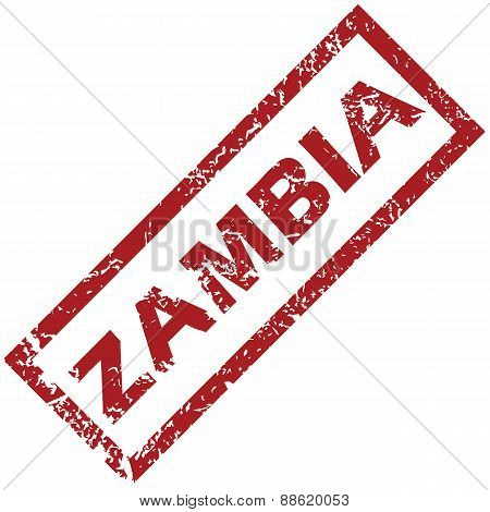 New Zambia rubber stamp