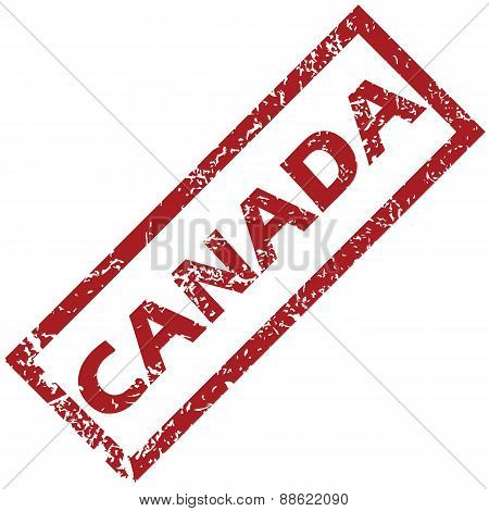 New Canada rubber stamp