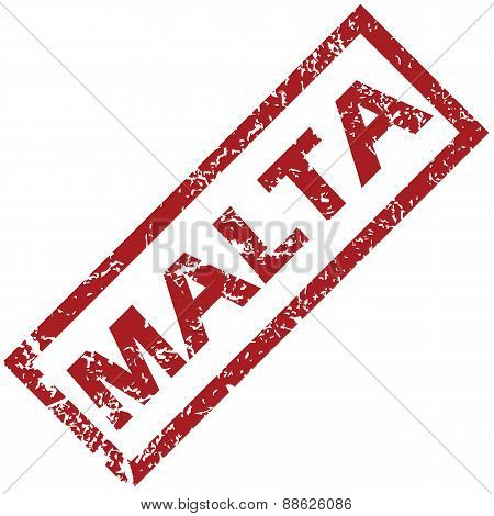 New Malta rubber stamp