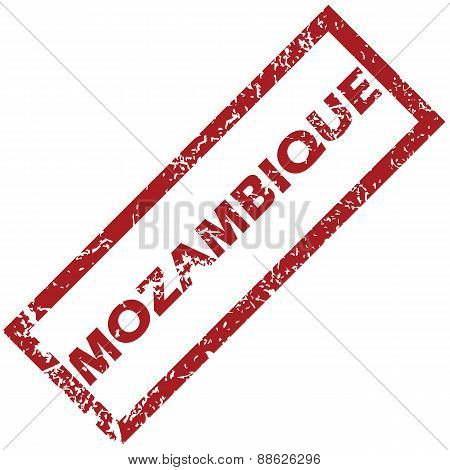 New Mozambique rubber stamp