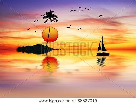 summer vacation at sea